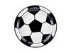 Engångstallrik Fotboll, 6-pack