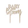 Tårtdekoration Babyshower - Baby in Bloom