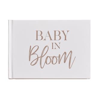 Gästbok till Babyshower - Baby in Bloom