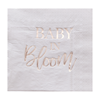 Servetter Babyshower - Baby in Bloom, 16-pack
