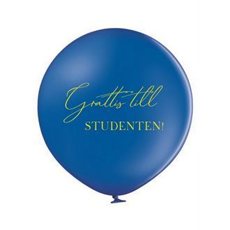 Jätteballong till Studenten, 60 cm