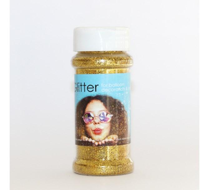 Glitter Guld till ballongdekorationer