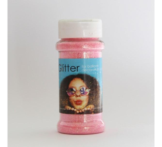 Glitter Rosa till ballongdekorationer