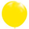 Gigantisk gul ballong, 182 cm.