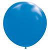 Gigantisk blå ballong, 182 cm.