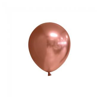 Ballonger Koppar glansiga 12 cm, 10-pack