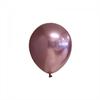 Ballonger Roséguld glansiga 12 cm, 10-pack
