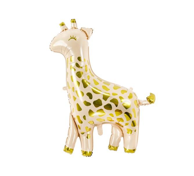 Folieballong Giraff, 80 x 102 cm.