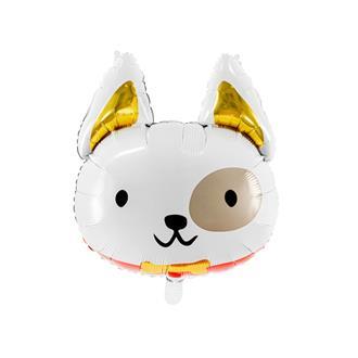 Folieballong Hund 45 x 50 cm.