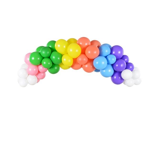 Ballonggirlang regnbåge, 2 m.