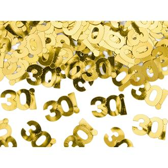 Konfetti 30 år guld