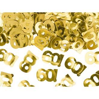 Konfetti 60 år guld