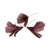 Fjäder blomma mörkrosa 12-pack