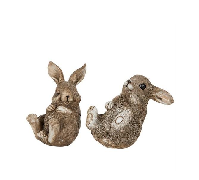 Påskdekoration Kaninungar Vädur, 2-pack
