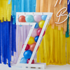 Ballongställ siffran 7, utan ballonger