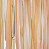 Draperi i persika och guld DIY