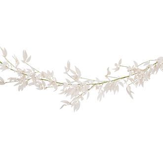 Konstgjord rosa lövgirlang av myrten, 1,9 m.