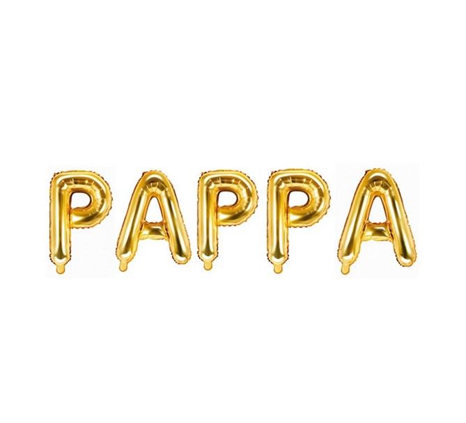 Ballonggirlang PAPPA  guld