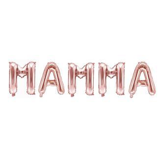 Ballonggirlang MAMMA roséguld