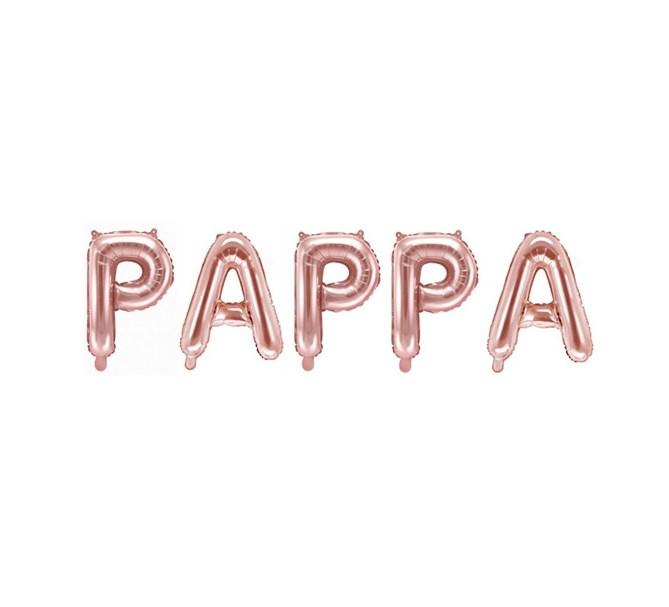 Ballonggirlang PAPPA  roséguld