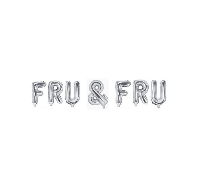 Ballonggirlang FRU & FRU silver
