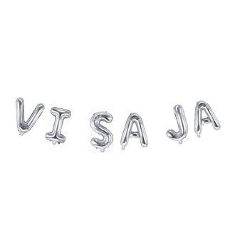Ballonggirlang VI SA JA silver