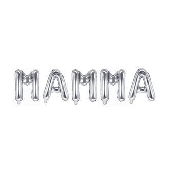 Ballonggirlang MAMMA silver