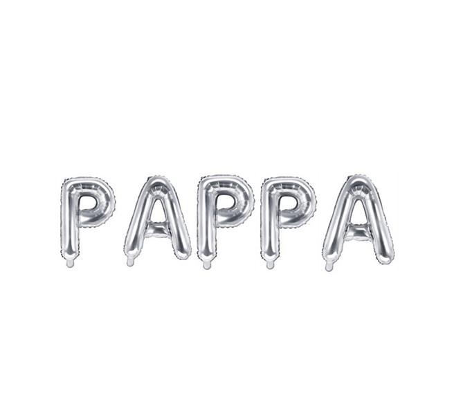 Ballonggirlang PAPPA  silver