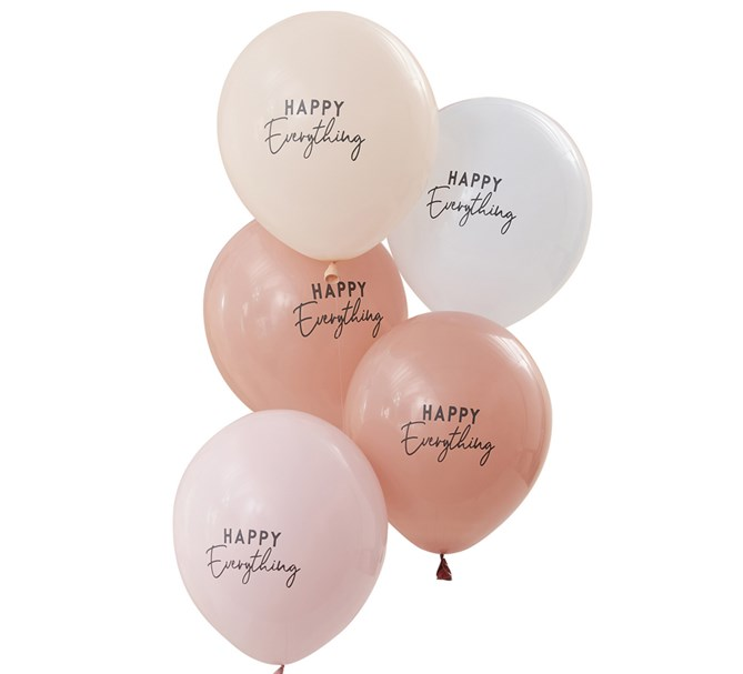 "Ballonger ""Happy Everything"", 5-pack"