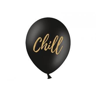 Ballonger Chill Svart, 5-pack