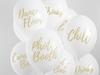 Ballonger Vita till fest & bröllop, 6-pack