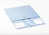 Presentbox med band Ljusblå 33 x 25 x 11 cm