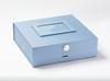 Fotoram ljusblå till presentbox