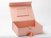 Fotoram roséguld till presentbox