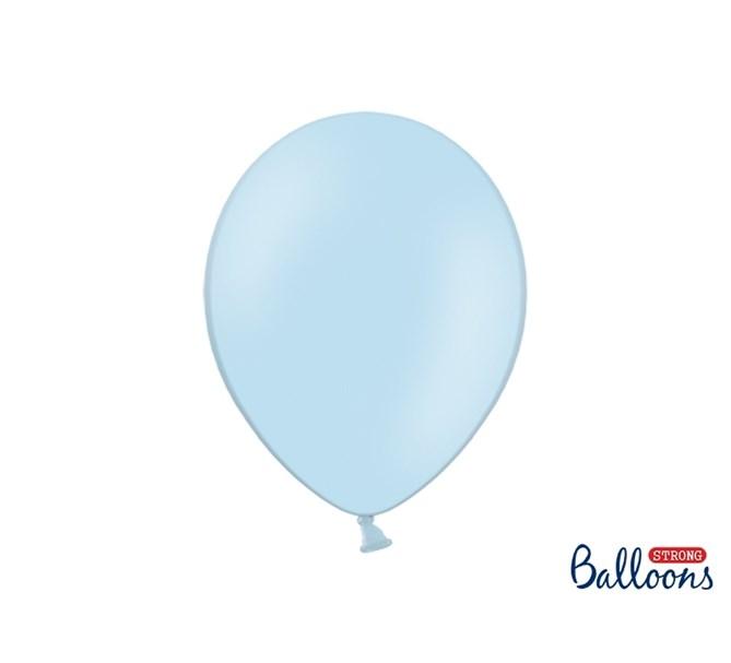 Ballonger pastell Ljusblå, flera storlekar
