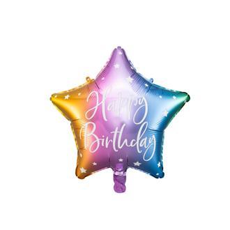 Folieballong till födelsedag, 40 cm
