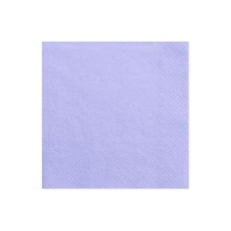 Servetter Lavendel, 20-pack