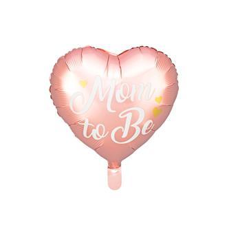 Folieballong Babyshower Mamma rosa