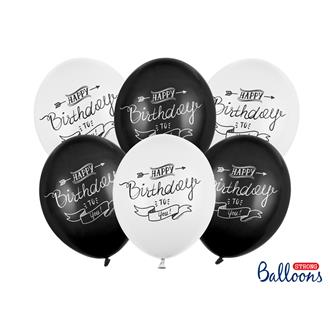 Ballonger Happy Birthday, 6-pack