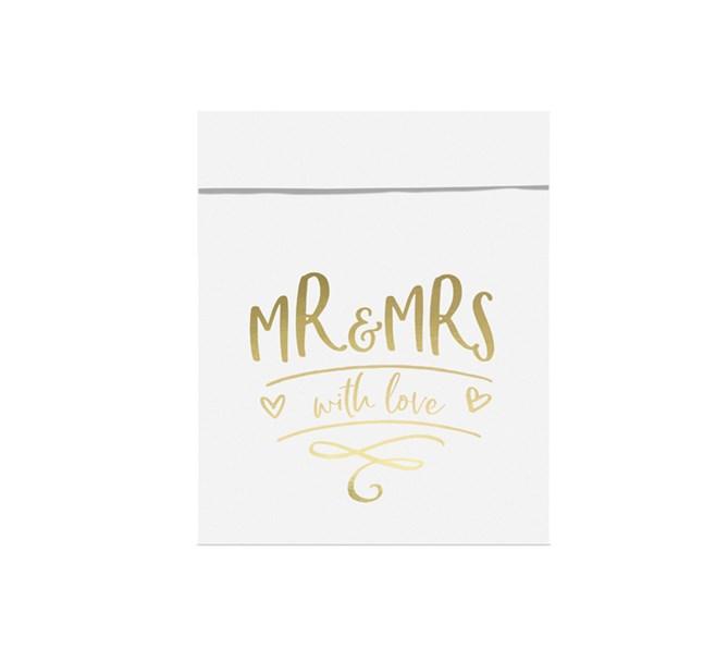 Godispåse Mr & Mrs, 6-pack