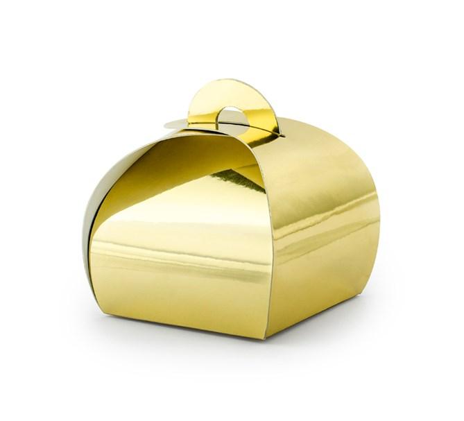 Presentask guld, 10-pack