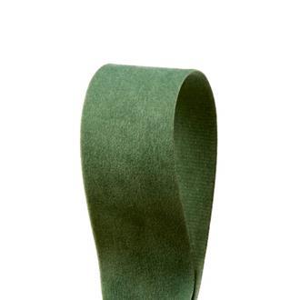 Sammetsband Ljusgrön 25 mm x 7 m