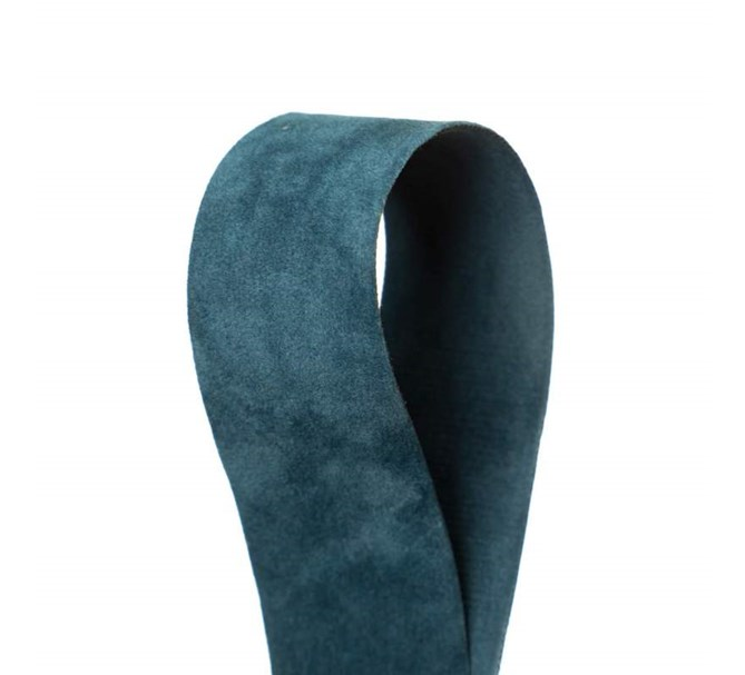 Sammetsband Blå 25 mm x 7 m