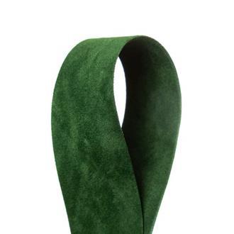 Sammetsband Grön 25 mm x 7 m