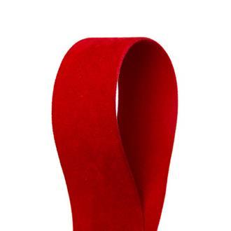 Sammetsband Röd 25 mm x 7 m