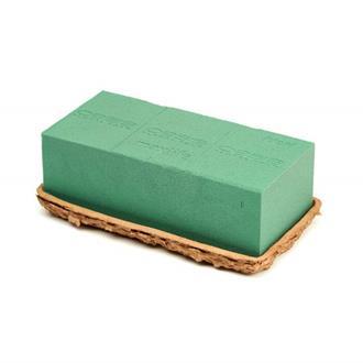 Oasis Block i Biolit-skål, 23 x 11 x 8 cm