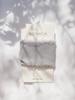 Chiffongband Dusty Blå 4 cm x 1,5 m