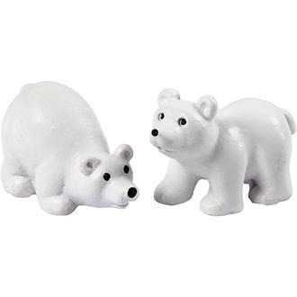 Minifigurer Isbjörnar, 2 st.