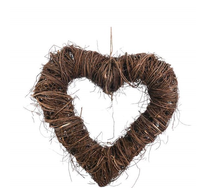 Hjärta av rotting Natur, 50 cm