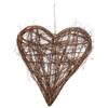 Hjärta av kvistar Natur, 40 x 55 cm